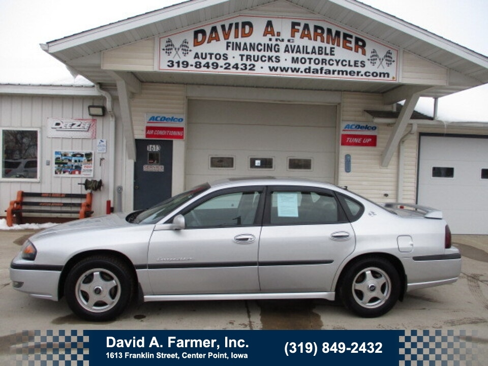 2002 Chevrolet Impala LS 4 Door*Low Miles/Leather/Sunroof*  - 4849  - David A. Farmer, Inc.