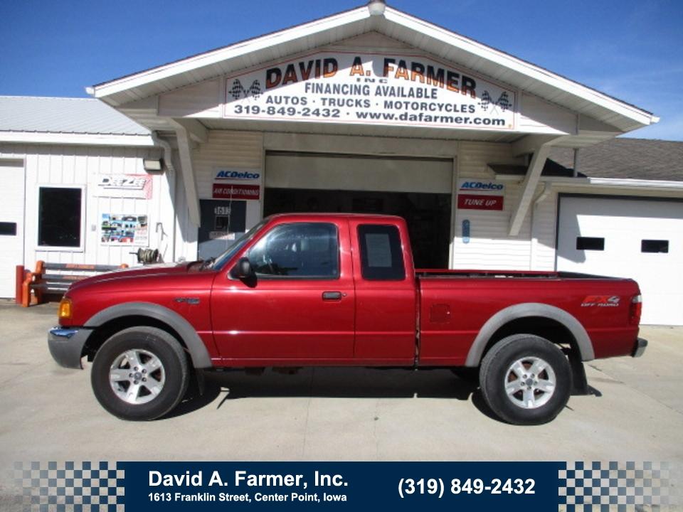 2003 Ford Ranger XLT X-Cab 4x4 FX4 OffRoad  - 4745  - David A. Farmer, Inc.