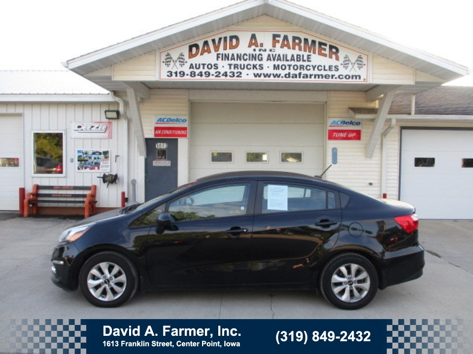 2016 Kia Rio EX 4 Door**Low Miles/Back Up Camera**  - 4791  - David A. Farmer, Inc.