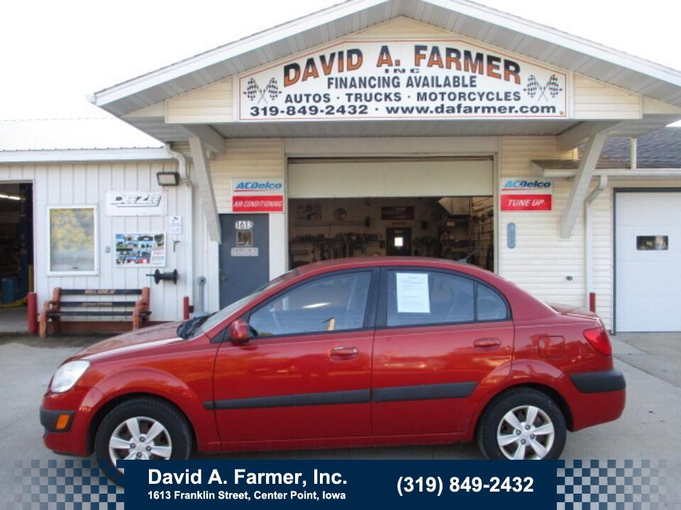2008 Kia Rio LX 4 Door**2 Owner/Low Miles/94K**  - 5073  - David A. Farmer, Inc.