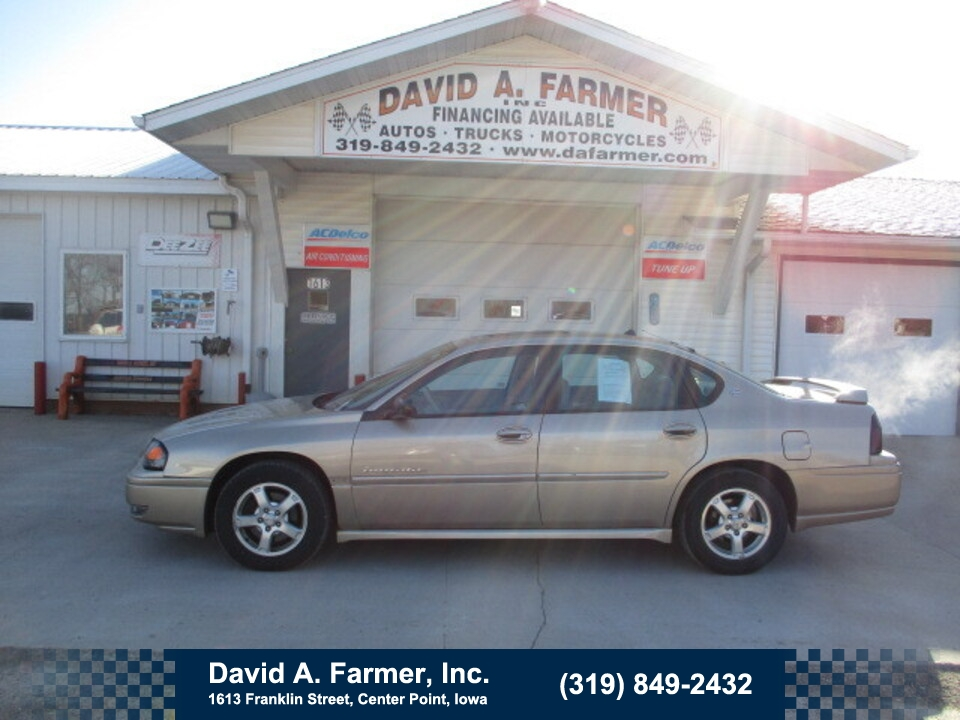 2004 Chevrolet Impala LS 4 Door**Heated Leather/Sunroof/Low Miles**  - 4909  - David A. Farmer, Inc.
