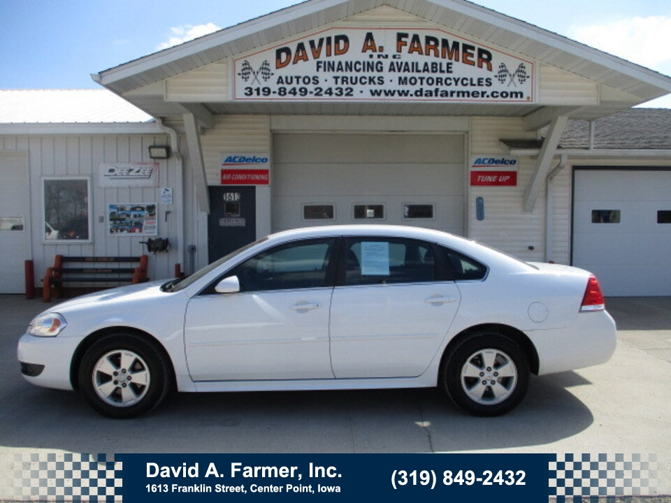2011 Chevrolet Impala LT 4 Door**Remote Start**  - 4931  - David A. Farmer, Inc.