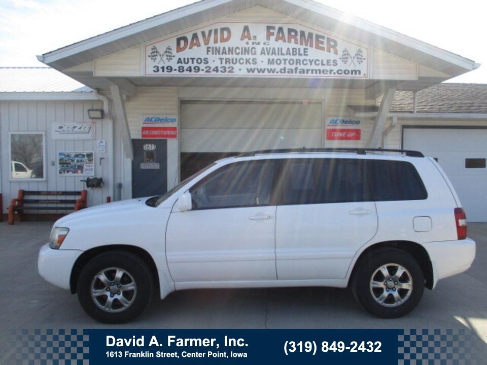 2005 Toyota Highlander Base FWD**1 Owner/Low Miles/101K**  - 4924  - David A. Farmer, Inc.