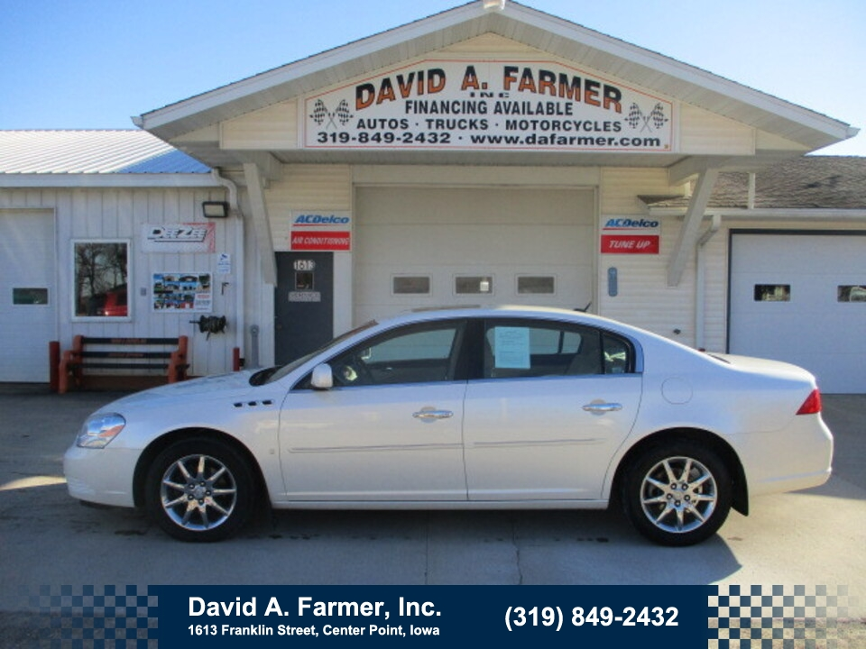 2008 Buick Lucerne CXL**Leather/Sunroof**  - 4800-1  - David A. Farmer, Inc.