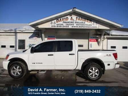 2012 Nissan Titan Crew Cab 4X4 Pro-4X OffRoad**1 Owner/Sunroof** for Sale  - 4889  - David A. Farmer, Inc.