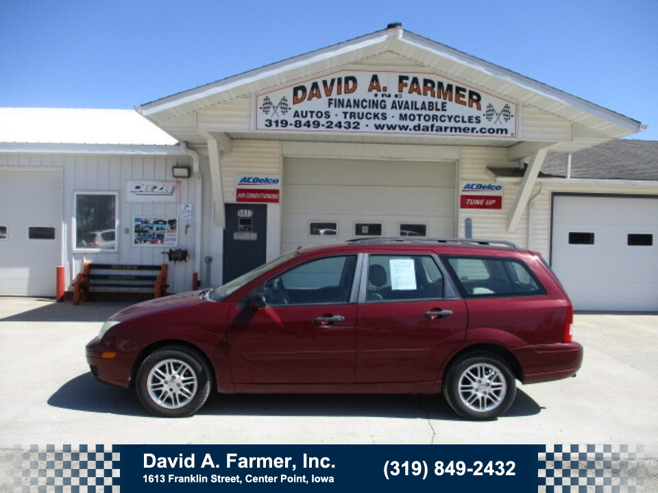 2007 Ford Focus ZXW SES Wagon FWD**Low Miles**  - 4912  - David A. Farmer, Inc.