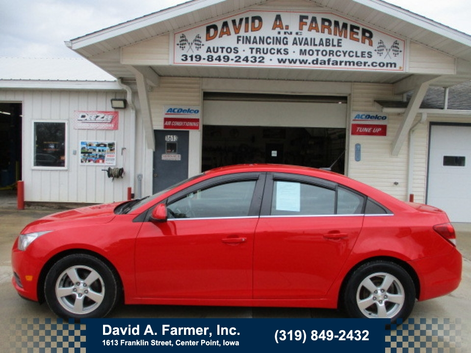 2014 Chevrolet Cruze LT 4 Door  - 4707  - David A. Farmer, Inc.