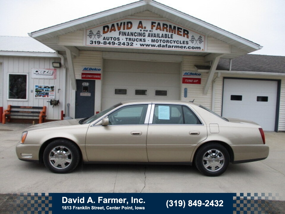 2005 Cadillac DeVille Base 4 Door**1 Owner/Low Miles/Leather**  - 4806  - David A. Farmer, Inc.