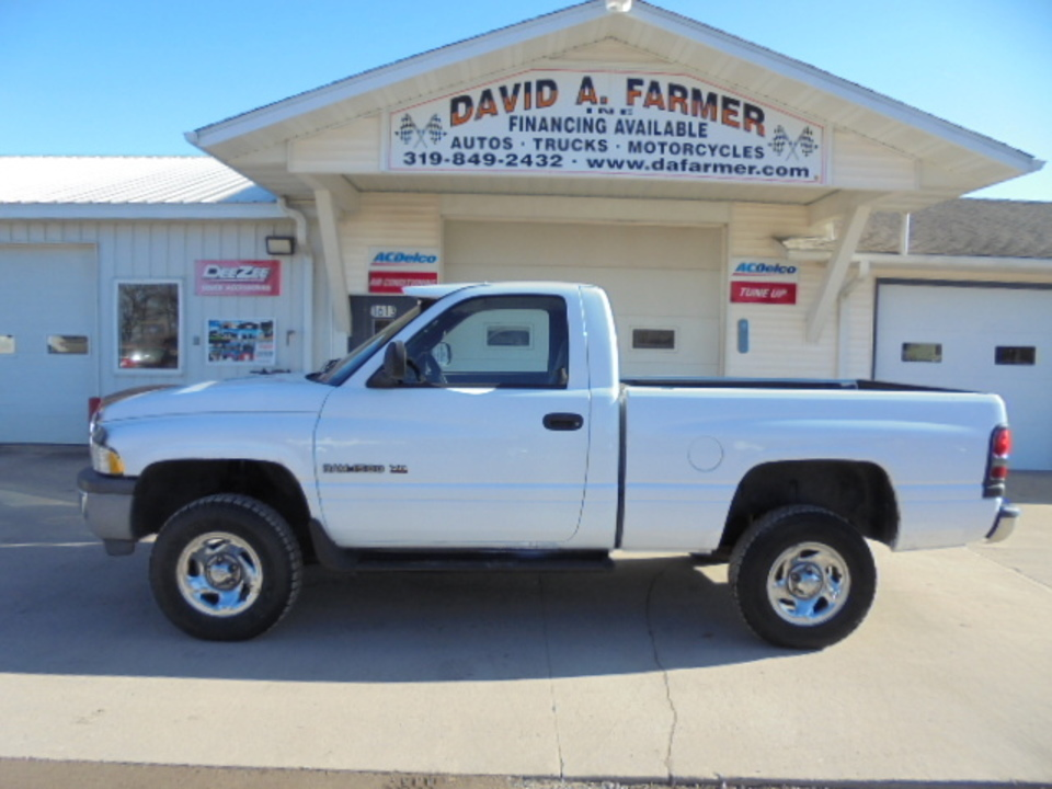 1999 Dodge Ram 1500 Regular Cab 4X4 Short Box**Low Miles**  - 4593-1  - David A. Farmer, Inc.