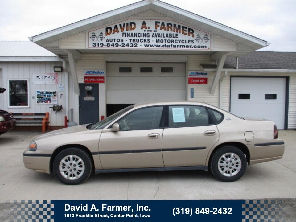 2000 Chevrolet Impala 4 Door**New Tires/Low Miles**  - 4782-1  - David A. Farmer, Inc.