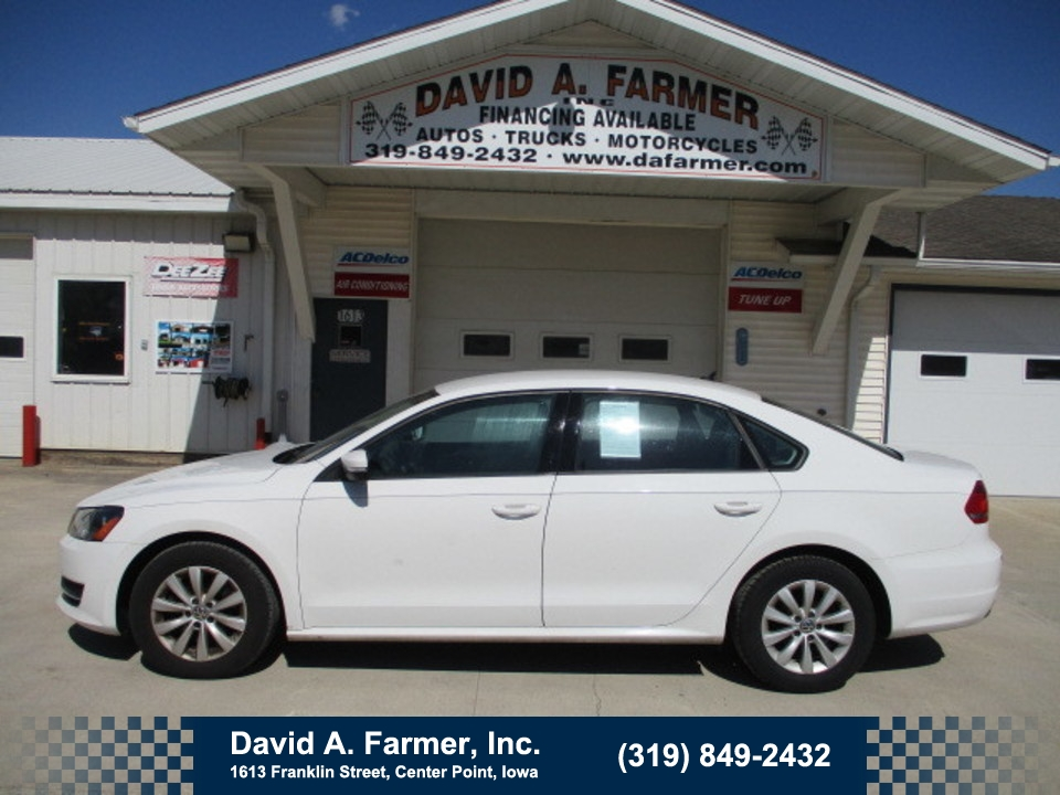 2013 Volkswagen Passat Sedan  - David A. Farmer, Inc.