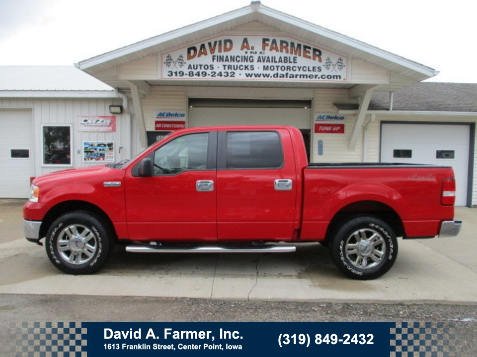 2008 Ford F-150 Super Crew XLT  4X4  - 4711  - David A. Farmer, Inc.