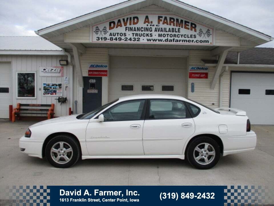 2004 Chevrolet Impala LS4 Door**Loaded/Low Miles**  - 4814  - David A. Farmer, Inc.
