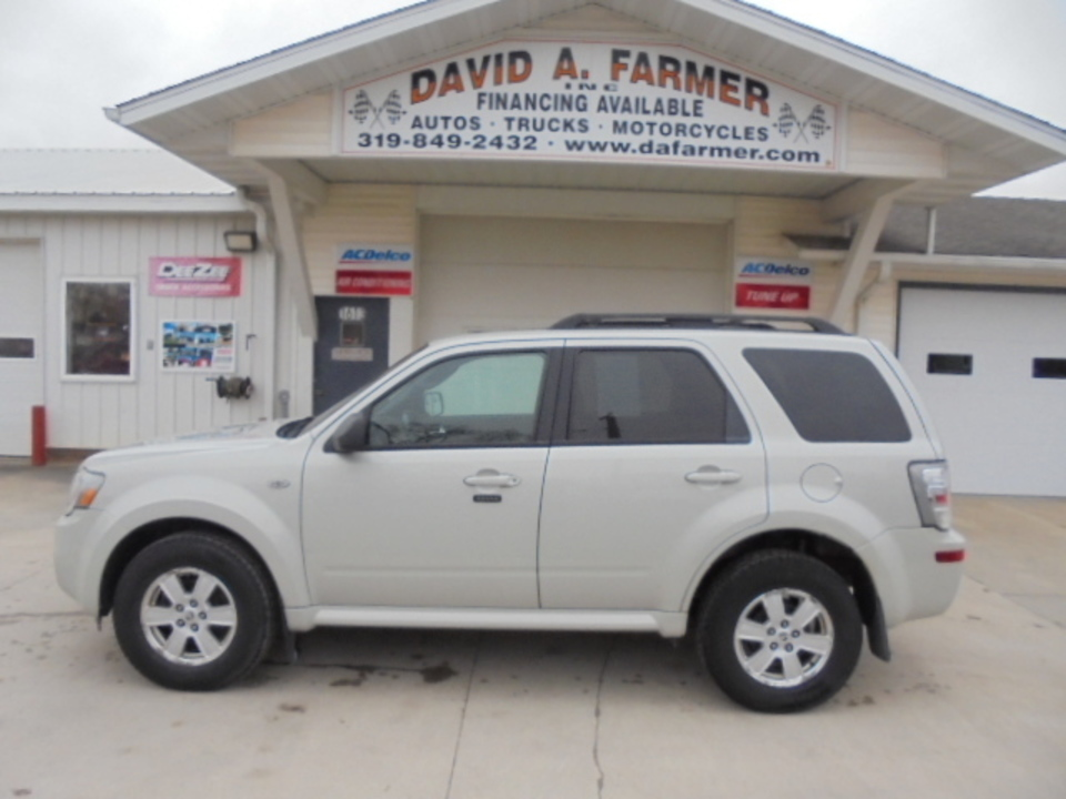 2009 Mercury Mariner Utility 4 Door 4X4**Leather/Sunroof/Remote Start**  - 4512-1  - David A. Farmer, Inc.