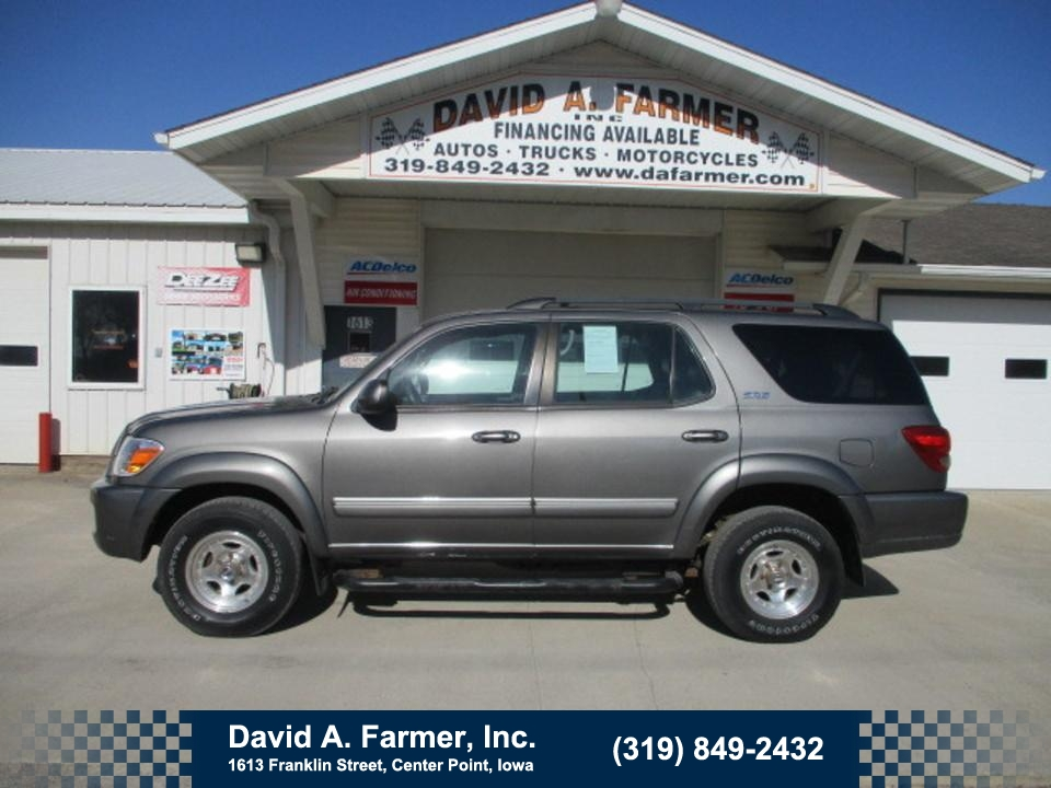 2005 Toyota Sequoia SR5 4X4  - 4688  - David A. Farmer, Inc.