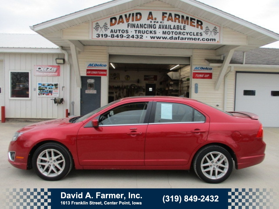 2011 Ford Fusion SEL 4 Door**Loaded/Low Miles**  - 4695  - David A. Farmer, Inc.