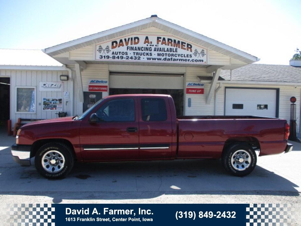 2005 Chevrolet Silverado 1500 LS XCab 4 Door 4X2 Long Box**Low Miles/78K**  - 4996  - David A. Farmer, Inc.
