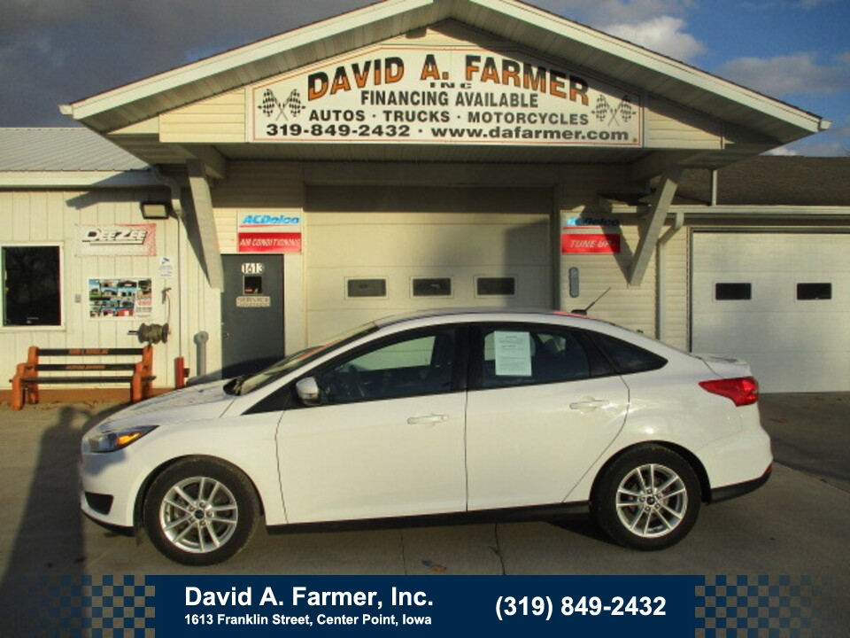 2015 Ford Focus SE 4 Door**1 Owner/Low Miles**  - 4822  - David A. Farmer, Inc.