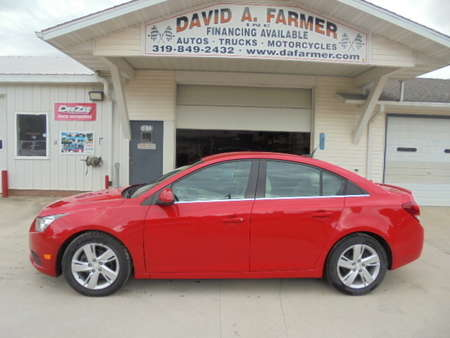 2014 Chevrolet Cruze Sedan I4 Turbo Diesel**1 Owner/Heated Leather** for Sale  - 4492  - David A. Farmer, Inc.