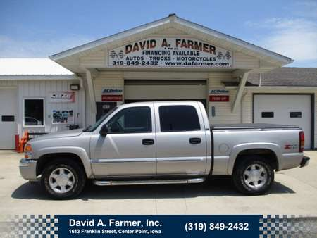 2005 GMC Sierra 1500 SLT Crew Cab 4X4 Z71*Heated Leather/Bose Stereo* for Sale  - 4739  - David A. Farmer, Inc.