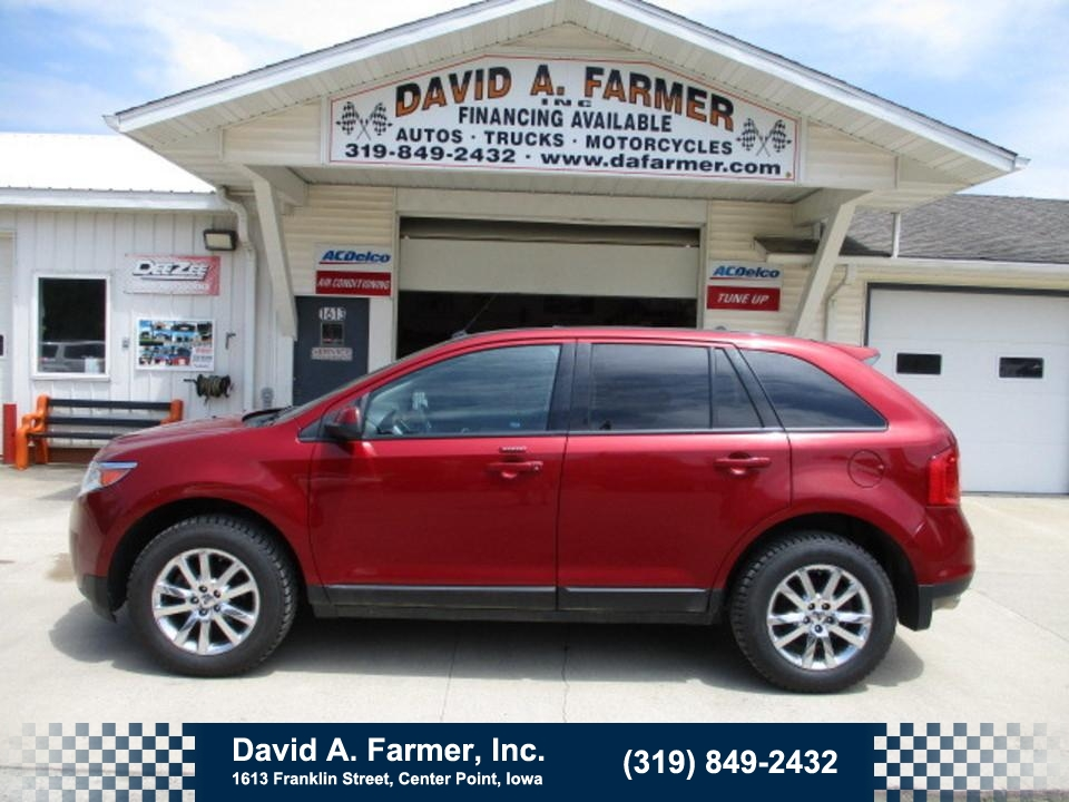 2013 Ford Edge SEL AWD**Loaded/Sunroof/Heated Leather**  - 4735  - David A. Farmer, Inc.