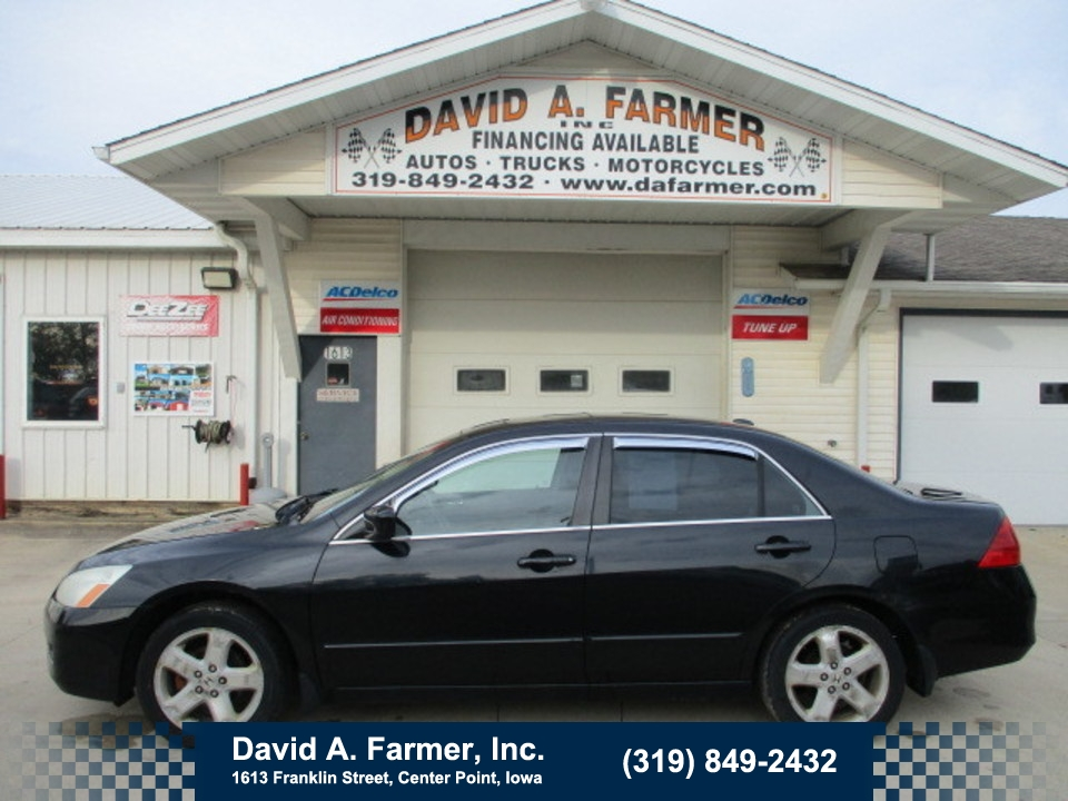 2007 Honda Accord EX 4 Door**Low Miles/Leather/Sunroof**  - 4702  - David A. Farmer, Inc.