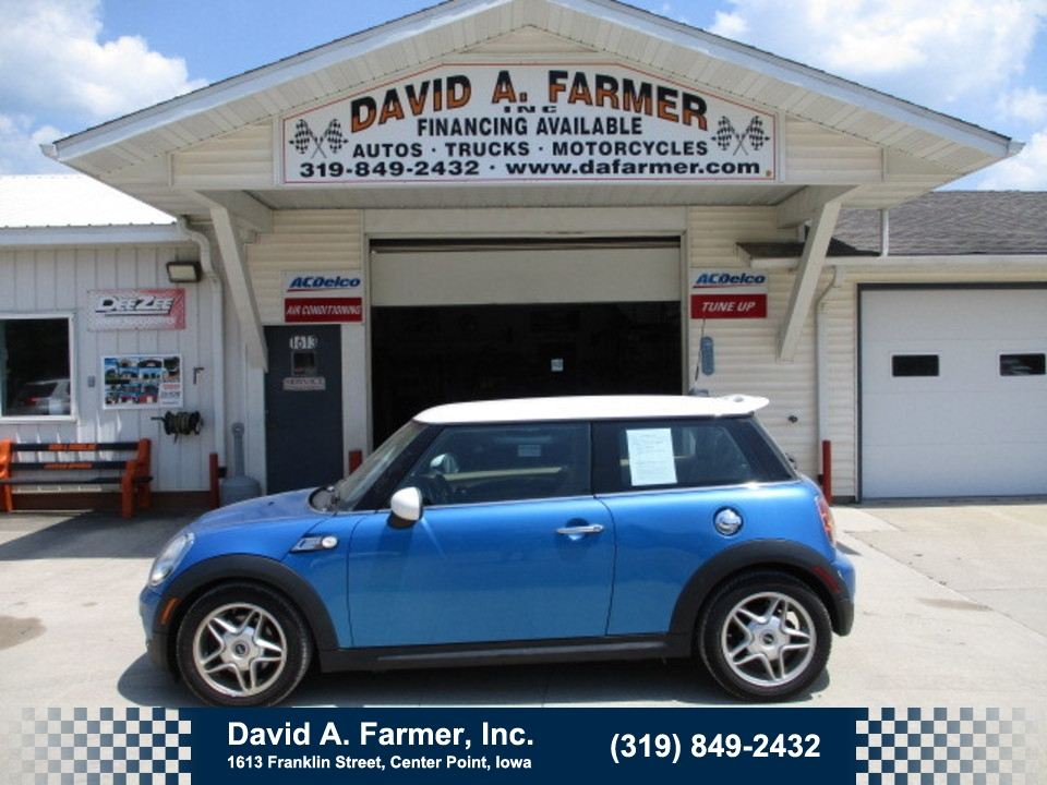 2008 Mini Cooper S 2 Door FWD**Low Miles**  - 4731  - David A. Farmer, Inc.
