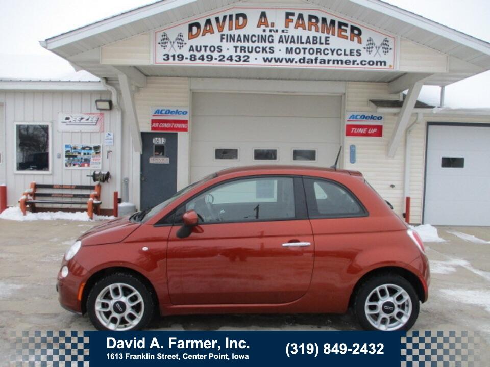 2015 Fiat 500 Pop 2 Door**Low Miles**  - 4822-1  - David A. Farmer, Inc.