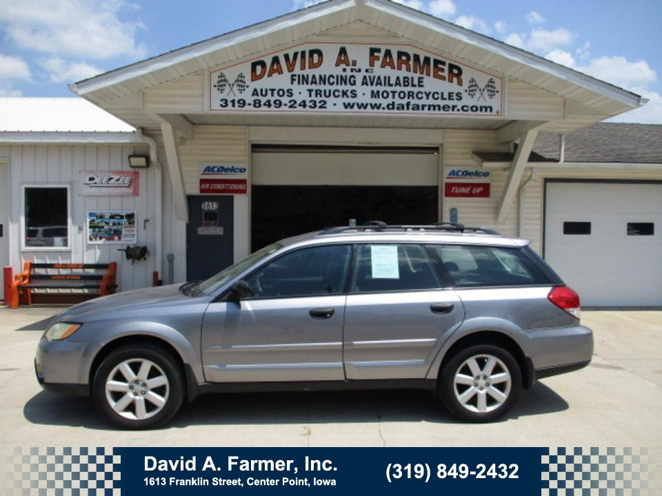 2009 Subaru Outback  - David A. Farmer, Inc.