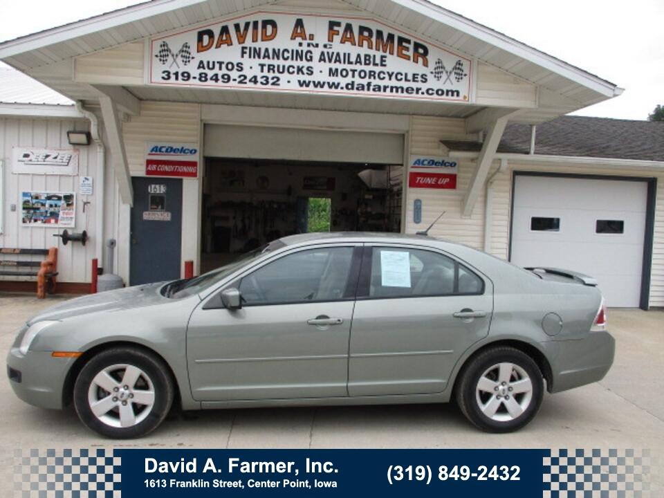 2008 Ford Fusion SE 4 Door**2 Owner/Low Miles/77K**  - 5040  - David A. Farmer, Inc.