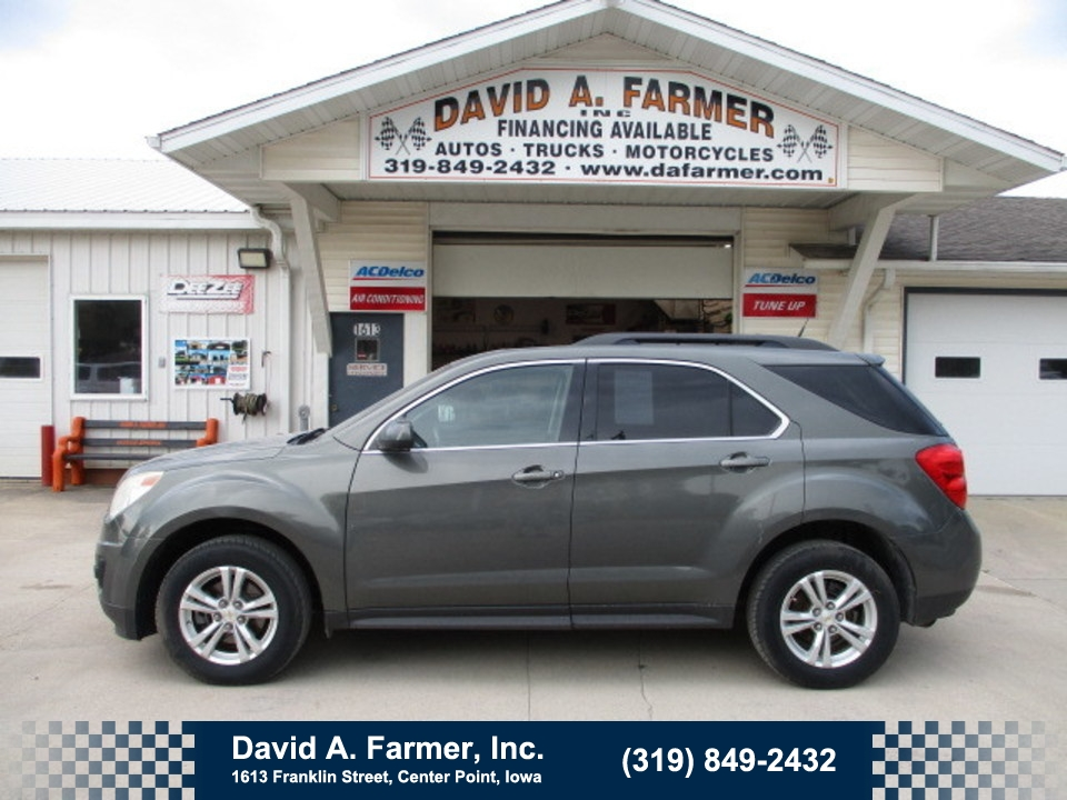 2012 Chevrolet Equinox LT FWD**New Tires/Brakes**  - 4734-1  - David A. Farmer, Inc.