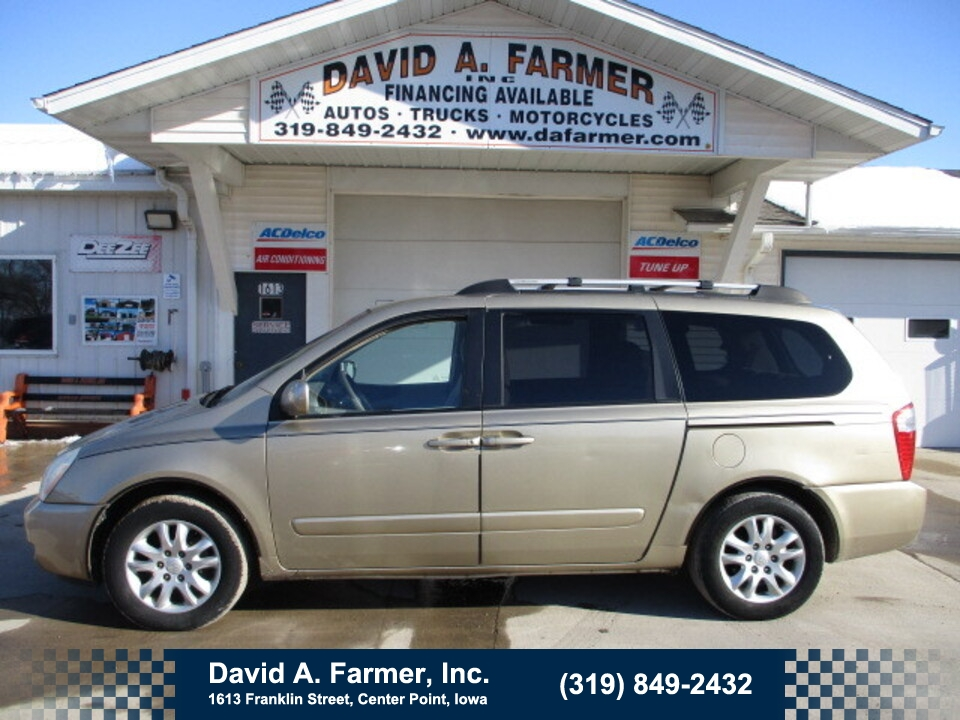 2006 Kia Sedona EX 4 Door**1 Owner/Low Miles**  - 4857  - David A. Farmer, Inc.