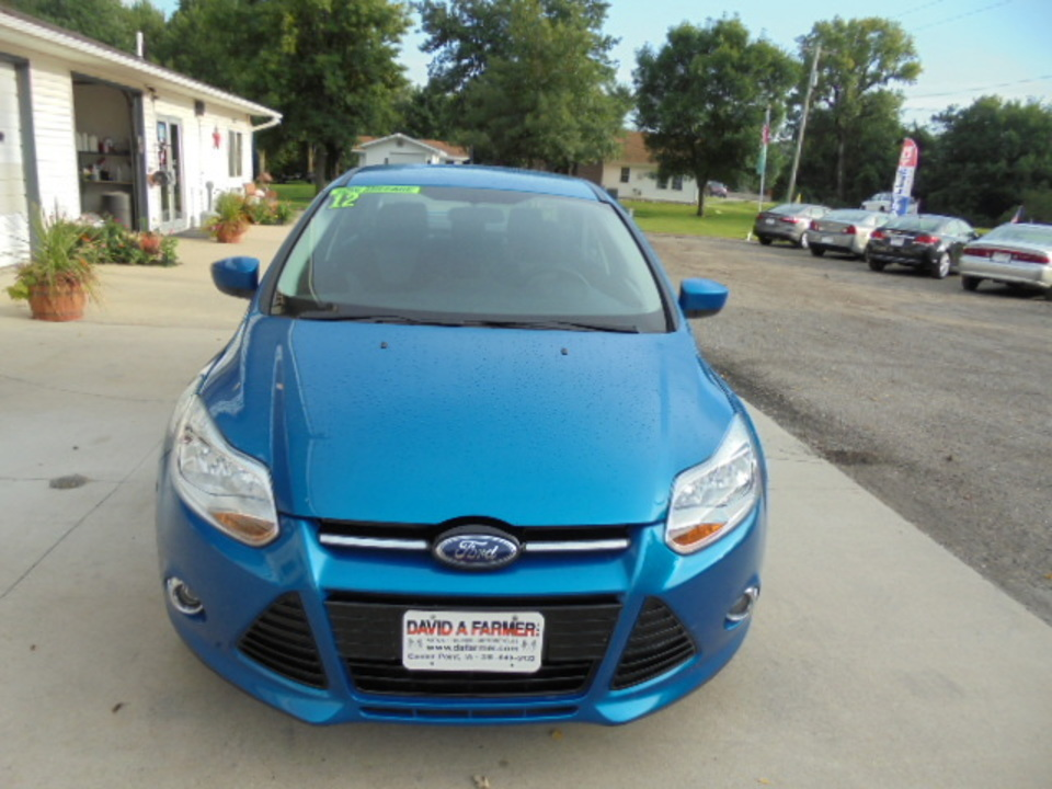 2012 Ford Focus  - David A. Farmer, Inc.