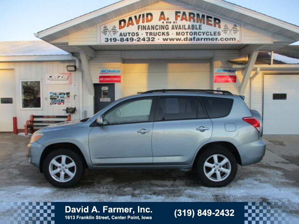 2006 Toyota Rav4 Limited 4X4  - 4846  - David A. Farmer, Inc.