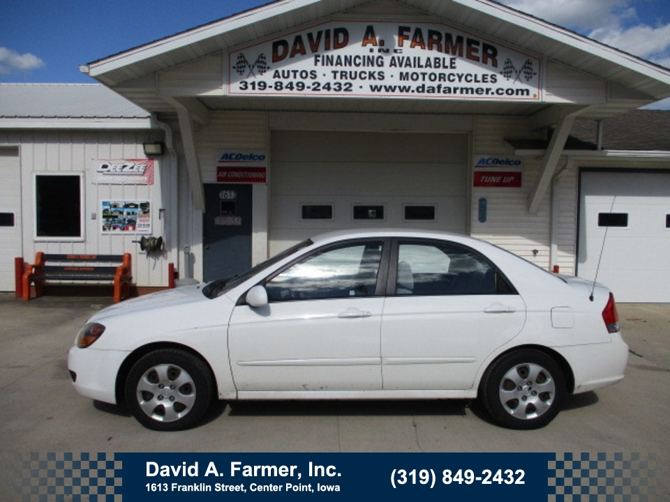 2009 Kia Spectra LX 4 Door**Low Miles/Remote Start**  - 4748  - David A. Farmer, Inc.