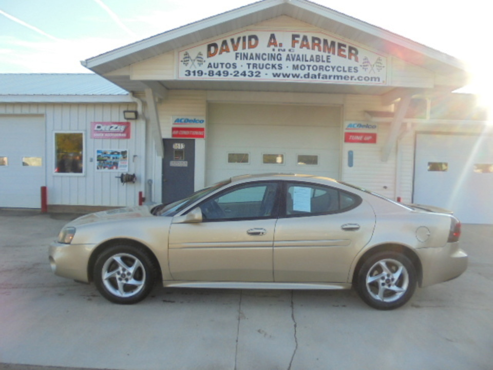 2004 Pontiac Grand Prix GTP 4 Door**Remote Start/Sunroof**  - 4576  - David A. Farmer, Inc.