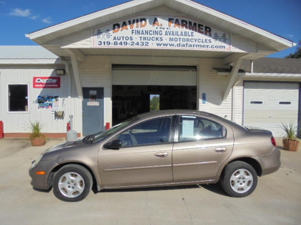 2001 Dodge Neon  - David A. Farmer, Inc.