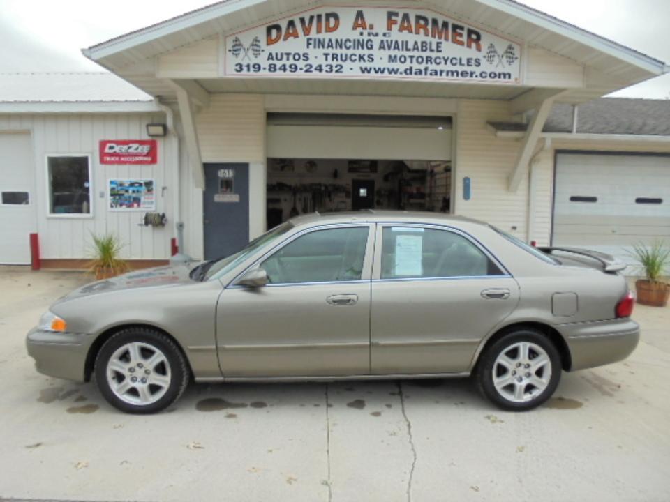 2002 Mazda 626  - David A. Farmer, Inc.
