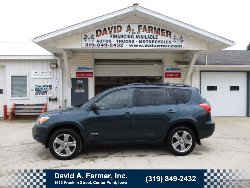 2008 Toyota Rav4 Sport 4 Door FWD**2 Owner/Sunroof**  - 5042  - David A. Farmer, Inc.