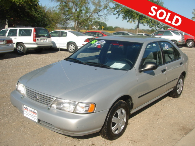 1996 Nissan Sentra Gxe 4 Door Sedan Stock 2831 Center Point Ia 52213