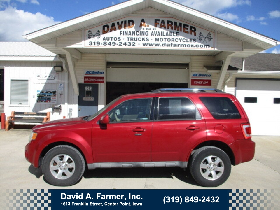 2009 Ford Escape Limited 4 Door AWD**2 Owner/Low Miles/98K**  - 5062  - David A. Farmer, Inc.