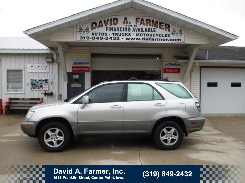2003 Lexus RX 300 4 Door 4X4**3 Owner/Low Miles/131K**  - 5094  - David A. Farmer, Inc.