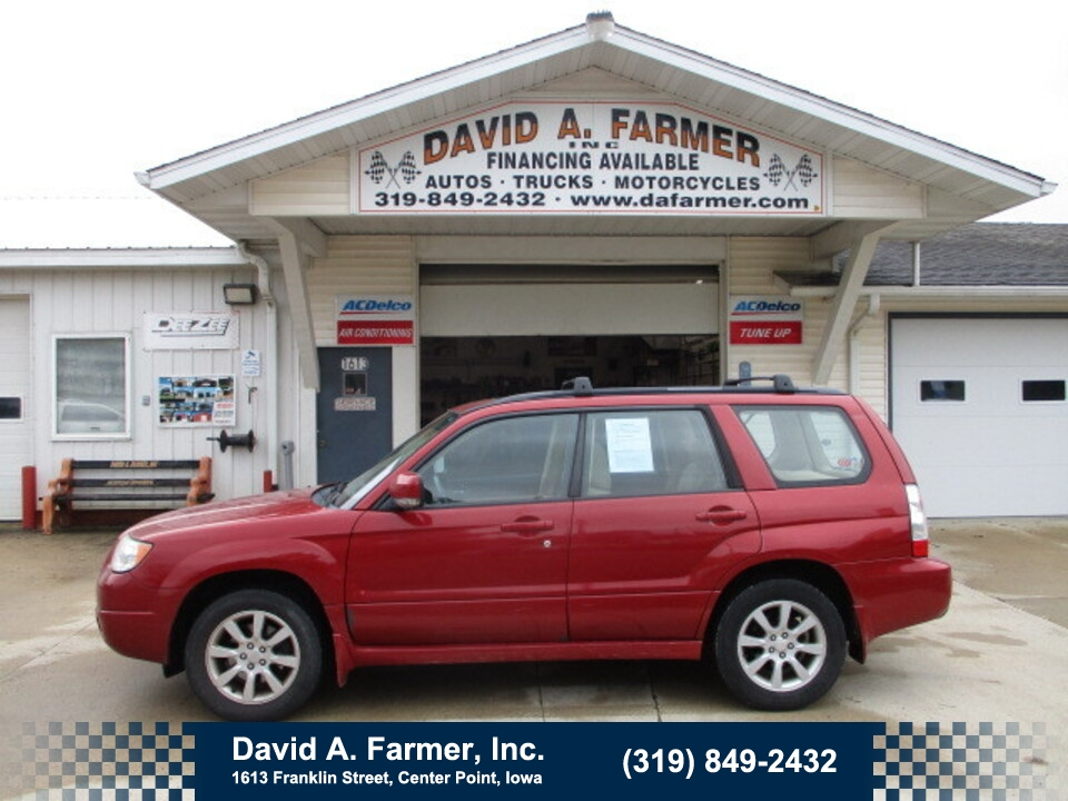 2007 Subaru Forester X 4 Door AWD**2 Owner/Low Miles/102K**  - 5102  - David A. Farmer, Inc.