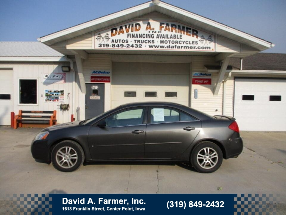 2006 Pontiac G6  - David A. Farmer, Inc.