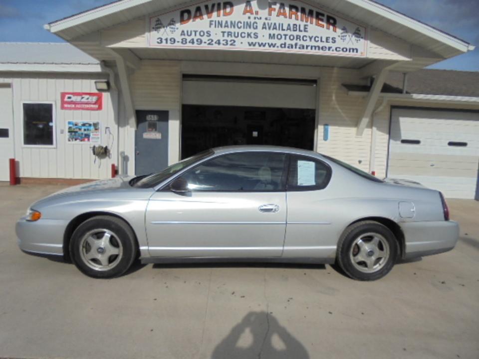 2003 Chevrolet Monte Carlo  - David A. Farmer, Inc.