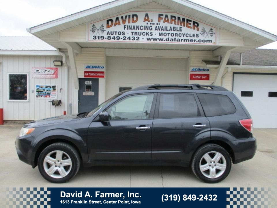 2010 Subaru Forester 5 Door X Premium AWD**1 Owner/Low Miles**  - 4696  - David A. Farmer, Inc.