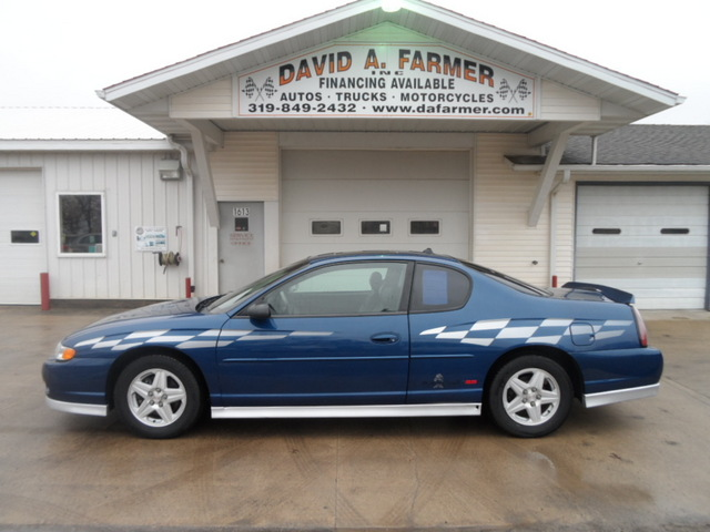 2003 Chevrolet Monte Carlo Ss Sport Package Limted Edition Pace Car Stock 4055 Center Point Ia 52213