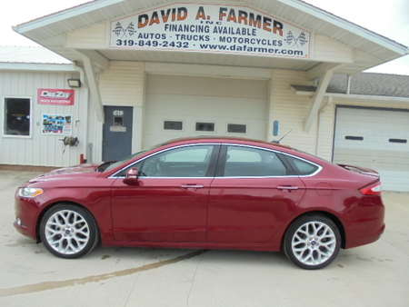 2014 Ford Fusion Titanium 4 Door**1 Owner/Loaded/Only 22K** for Sale  - 4315-1  - David A. Farmer, Inc.