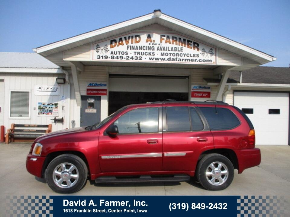 2003 GMC Envoy SLT 4X4**Heated Leather/Sunroof**  - 5075  - David A. Farmer, Inc.