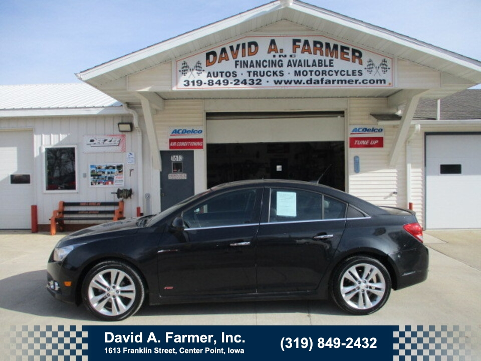 2014 Chevrolet Cruze LTZ  RS 4 Door**Heated Leather/Sunroof/Low Miles**  - 4827  - David A. Farmer, Inc.
